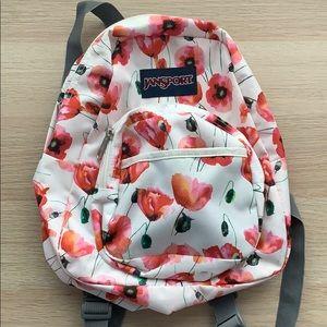 Small Floral Jansport Backpack